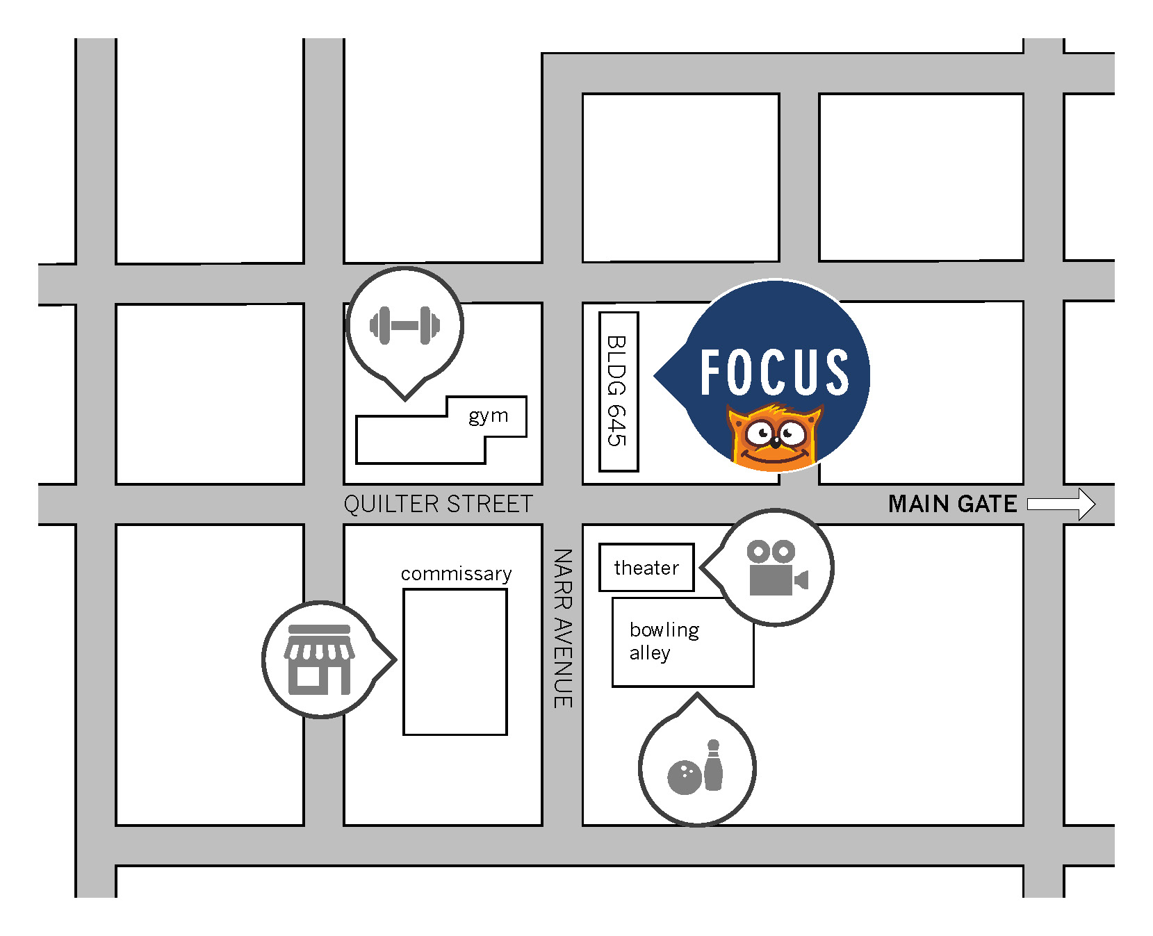 FOCUS Yuma Directions