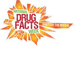 National drug fact week logo